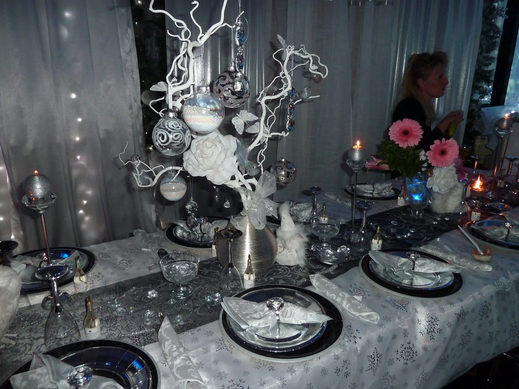 Deco table de fete reveillon deco table reveillon flickr - Deco table reveillon ...