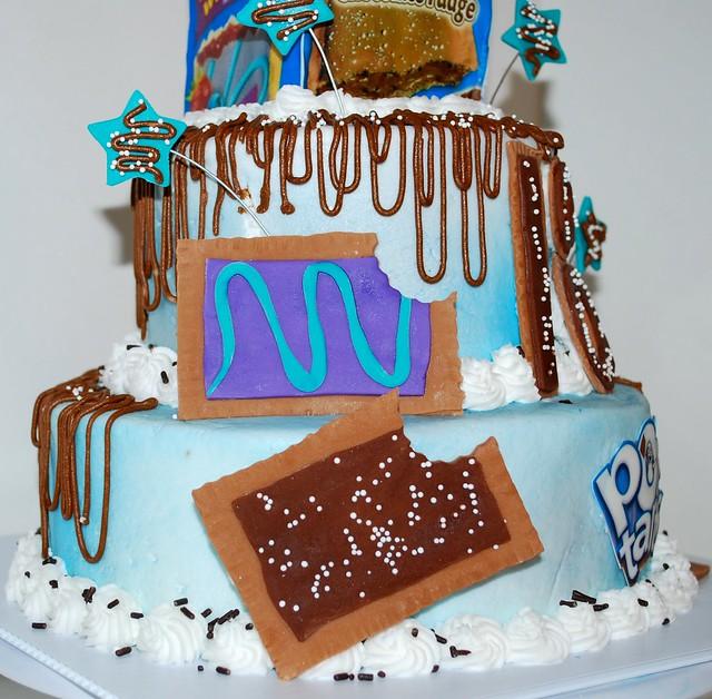 Pop Tart Theme 18th Birthday Cake
