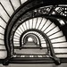 Rookery Stairs in Black and White
