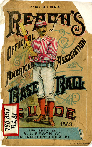 Reach's Official Baseball Guide (1889) | by Hopkins Rare Books, Manuscripts, & Archives