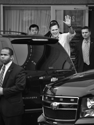 Mitt Romney Does the SUV Hustle | by Madison Guy