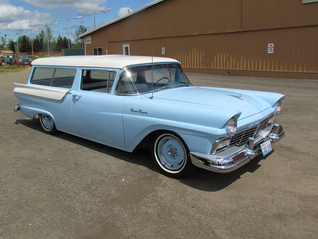 1957 ford ranch wagon flickr photo sharing for 1957 ford 2 door ranch wagon sale