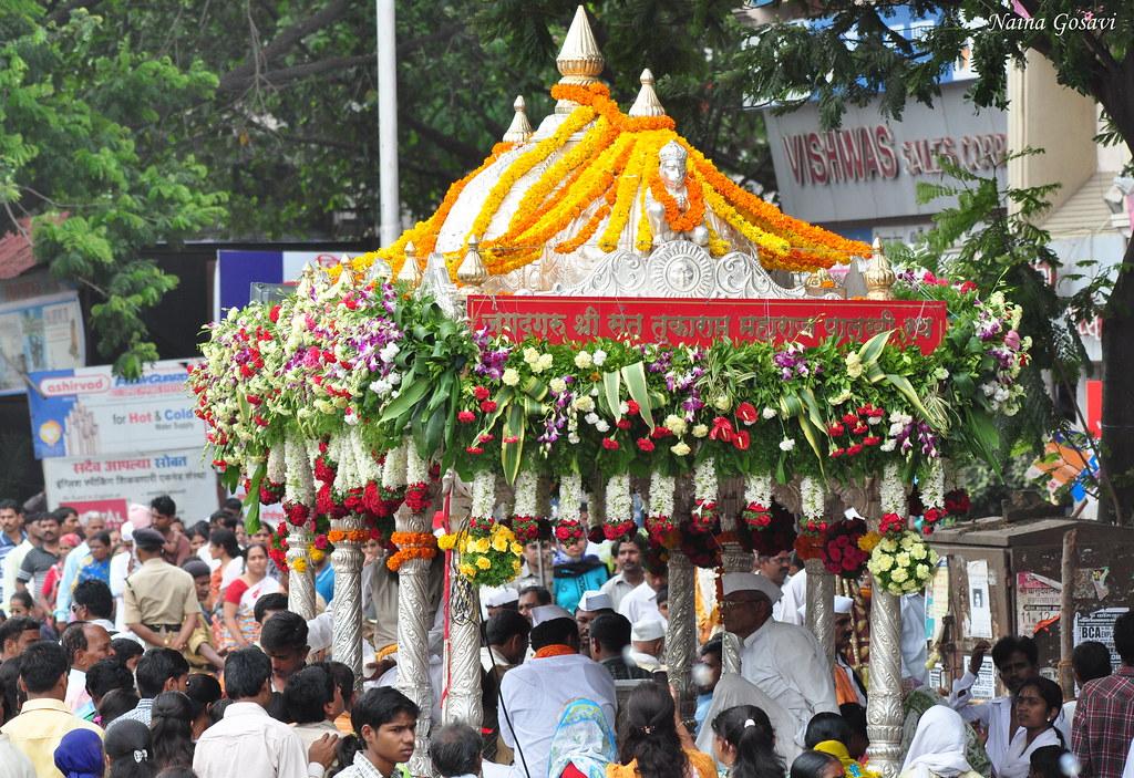 Best Warkari Shri Sant Tukaram Maharaj Palki Wallpapers for free download