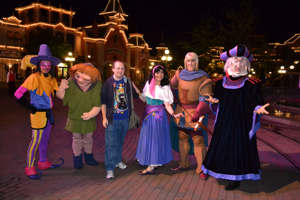 Meeting the Hunchback of Notre Dame Gang on Main Street ...