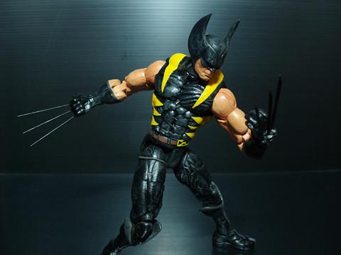 & Marvel - Wolverine Black Costume   Flickr