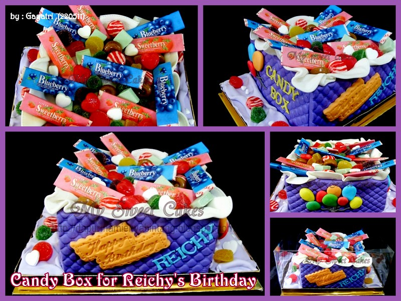 Candy Box Birthday Cake For Reichy My Sweet Cakes Flickr