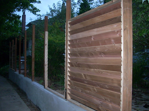 Louver Fence Plans Diy Free Download How To Build A Wooden