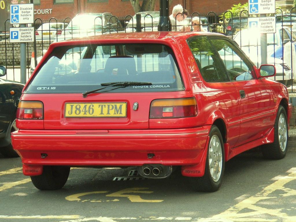 1992 Toyota Corolla Gti 16v Hatchback Sam Osbon Flickr