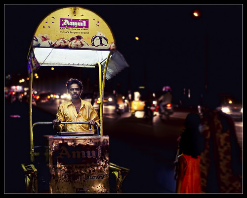 ice cream man and the girl in the red dress | by PNike (Prashanth Naik..back after ages)