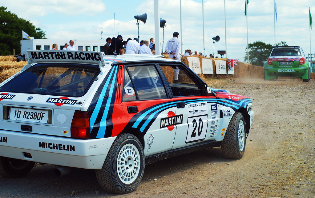 lancia delta integrale martini racing one of the rally