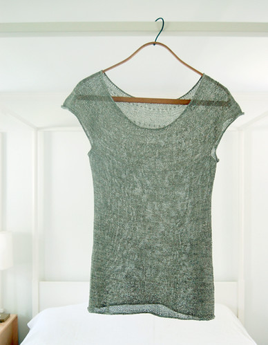 Whit's Knits: Silken Straw Summer Sweater | by the purl bee
