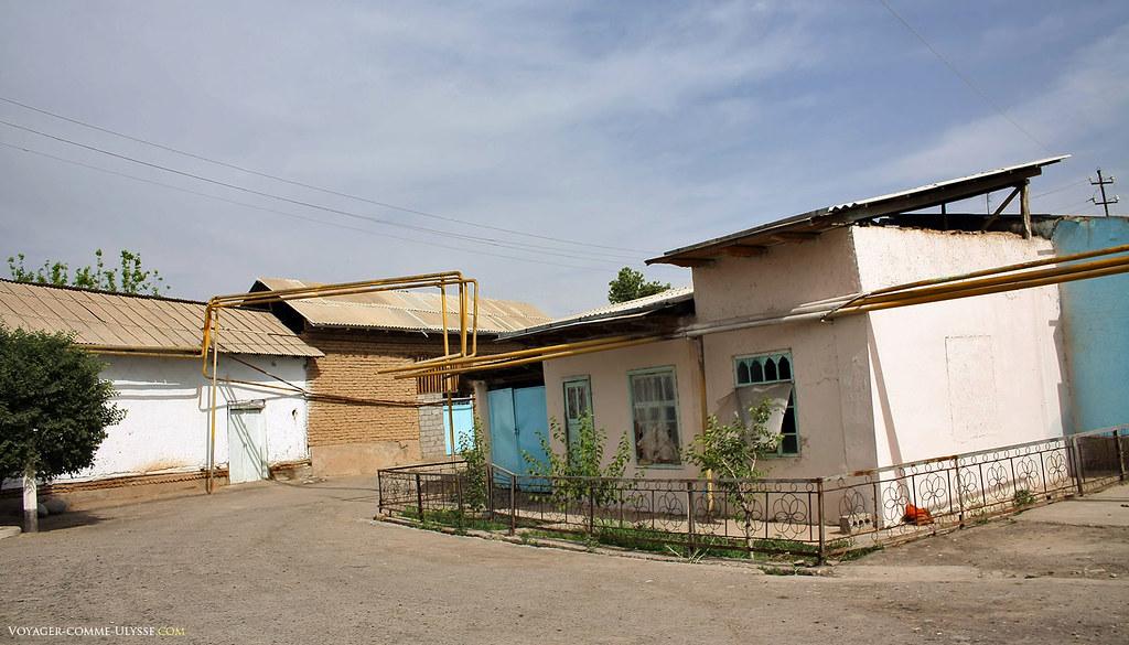 Chakhrisabz tuyaux de gaz visite de chakhrisabz ville for Tuyaux de gaz de ville