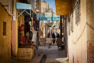 Down a Jerash alley | by Omar Chatriwala