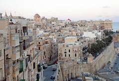 Valletta from Upper Barrakka Gardens