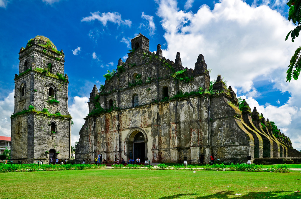 Paoay Church Ilocos Norte Paoay Church Also Known As The Flickr