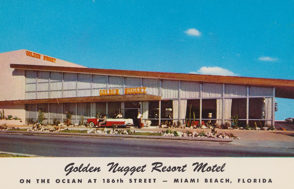 Golden Nugget Resort Motel - Miami Beach, Florida
