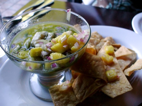 Ceviche with Tortilla Chips | by MookieLuv
