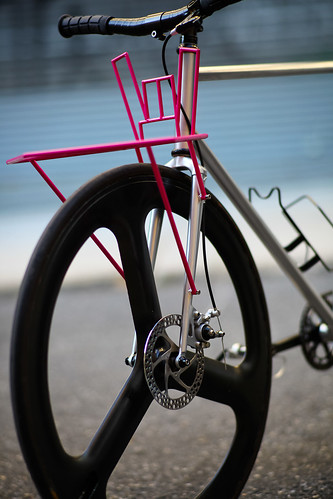 Beautiful Bicycle: Cycling WMD's Hail Satan Porteur | by John Watson / The Radavist