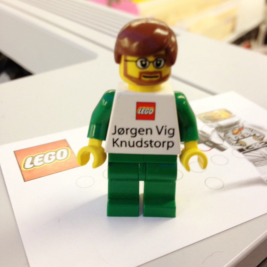 Lego CEO   Jørgen Vig Knudstorp is the CEO of the Lego Group…   Flickr