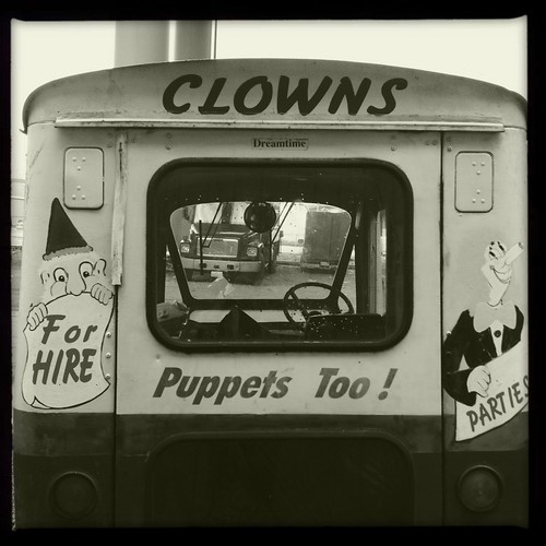 Creepy Clown Car | by Chris Blakeley
