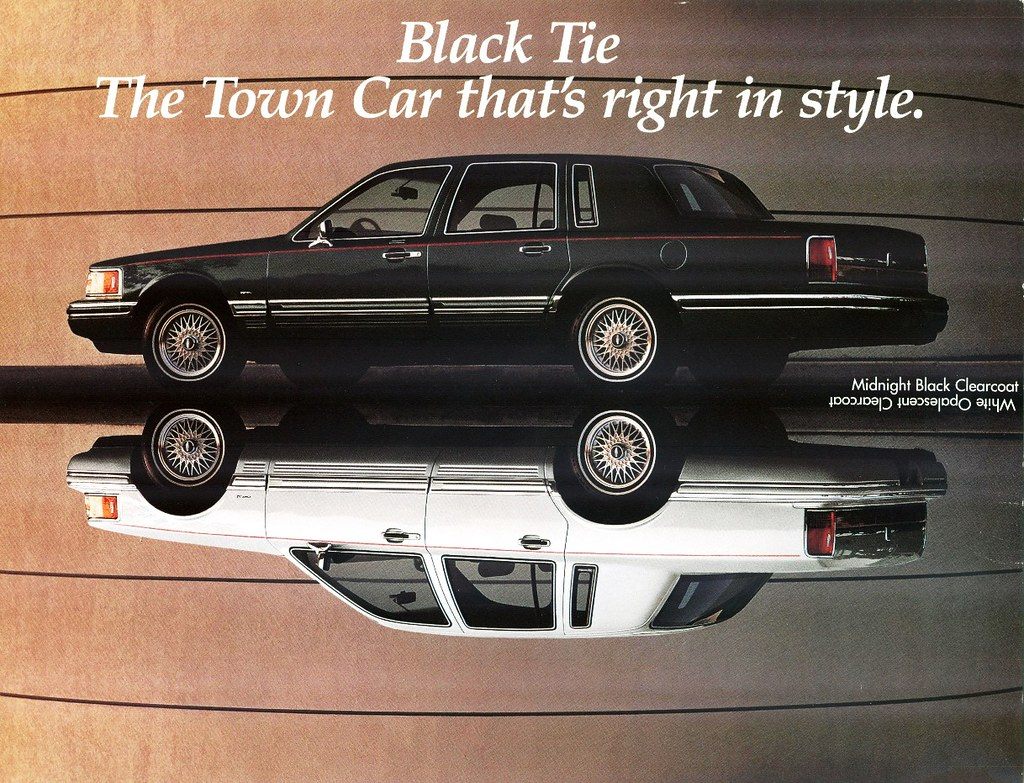 1994 lincoln town car black tie edition exterior choices w flickr. Black Bedroom Furniture Sets. Home Design Ideas