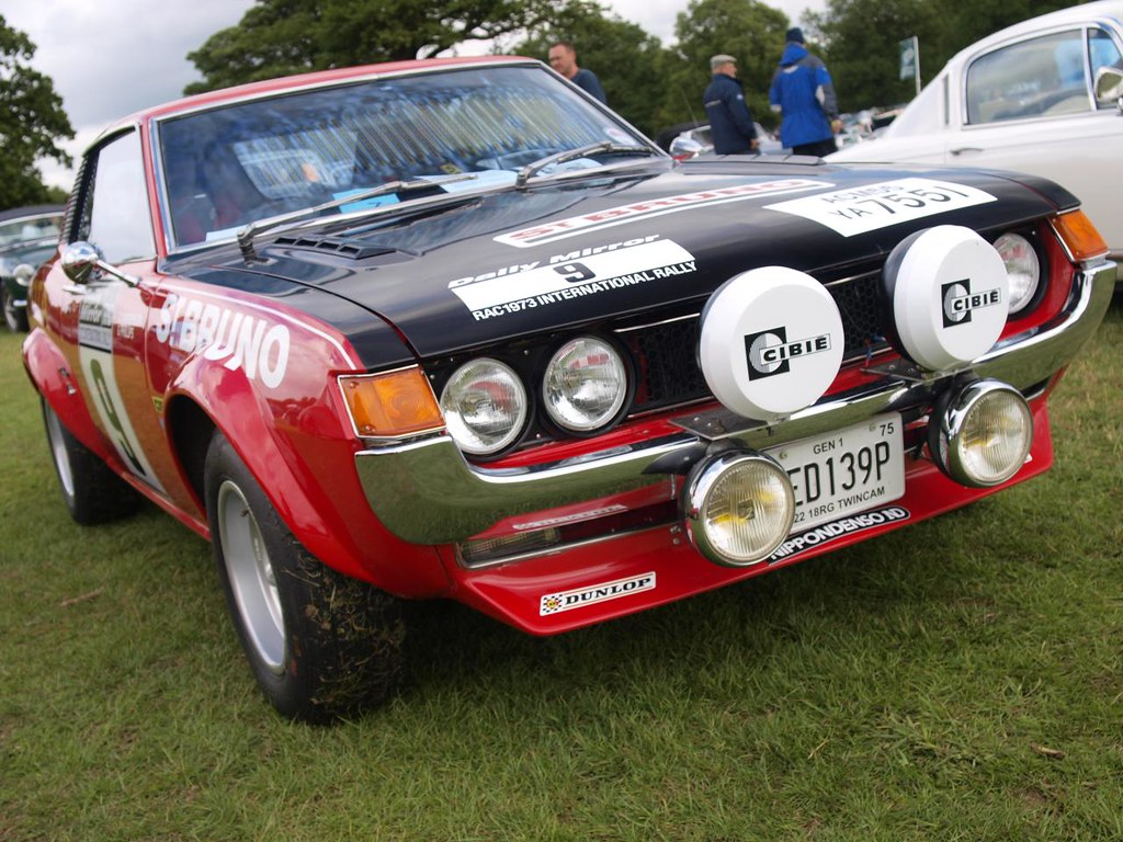 Toyota Celica Gt Rally Cars 1975 Flickr St By Imagetaker
