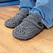 Opa House Slippers Crochet Pattern