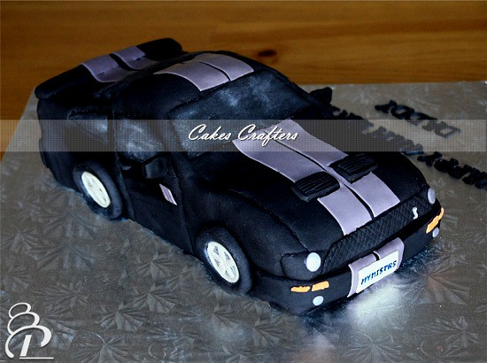 Mustang Car Cake Right view Carved Mustang Shelby Cobra Flickr