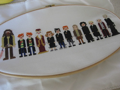 Harry Potter and Co. Cross Stitch | by thistle.town