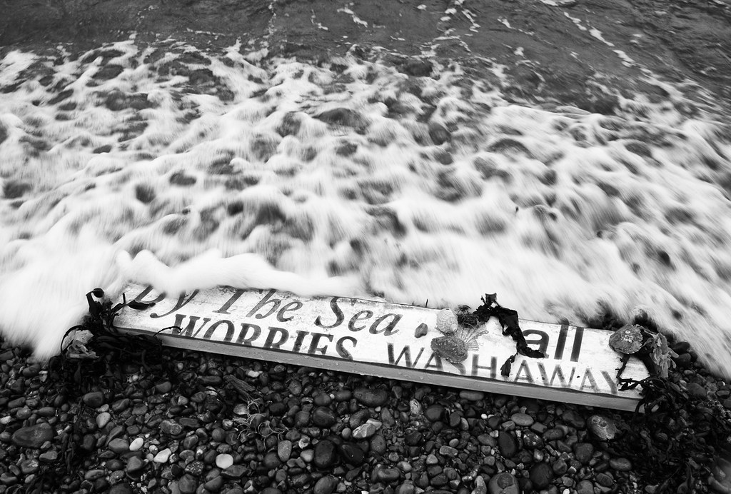 Image result for by the sea all worries wash away images
