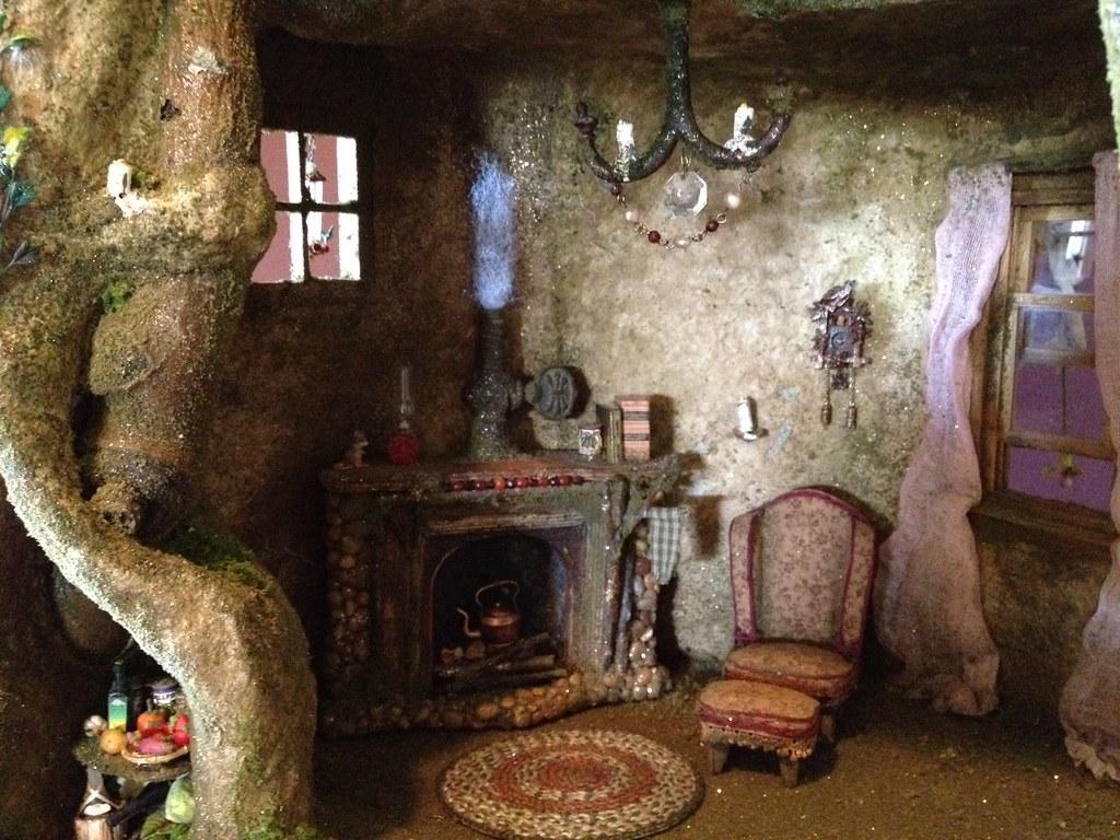 ... Fairy Tree Trunk House In Progress | By Torisaur