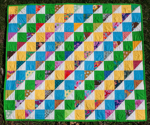baby quilt whole | by Lynn Carson Harris