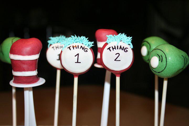 Festa: Dr. Seuss Cake Pops