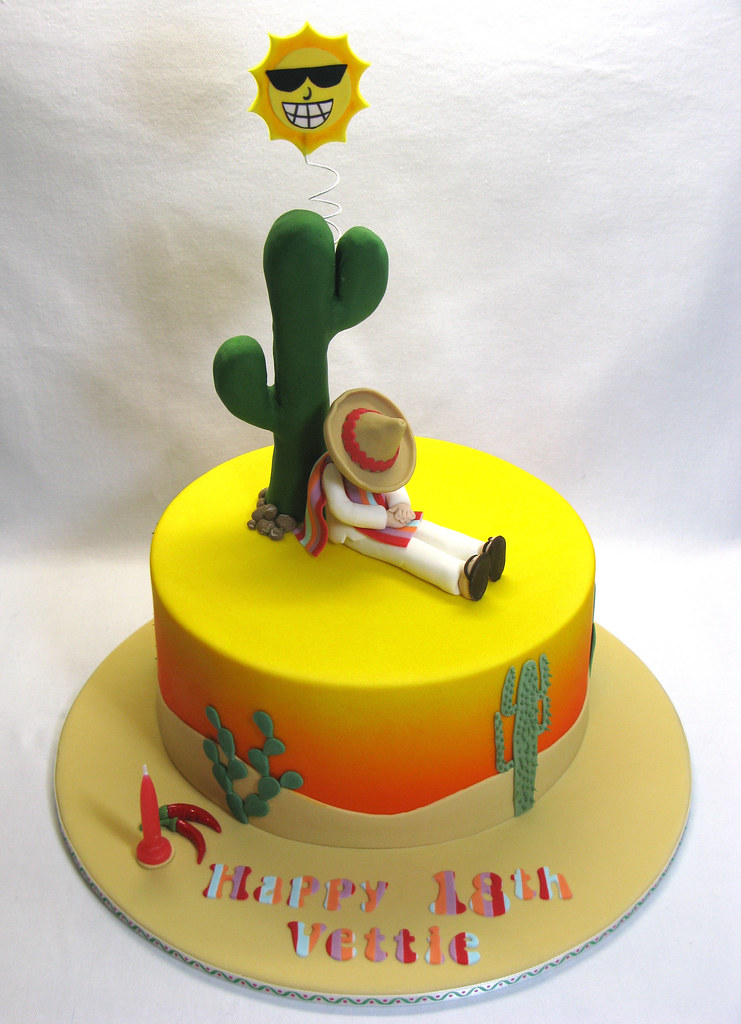 Mexican Cake The Brief For This Cake Was Simple A