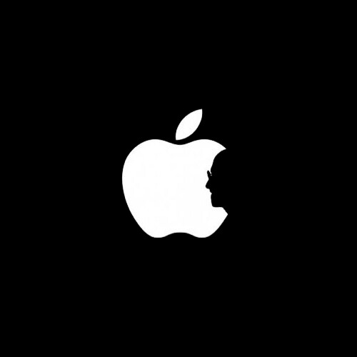 Apple Logo with Steve Jobs silhouette | by ju5ti