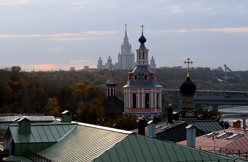 Andreevsky monastery and Moscow University | by Oleg Bartunov