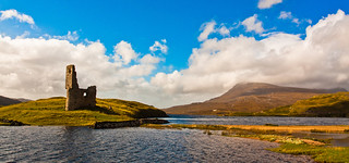 Ardvreck Castle | Highlands | Scotland | by capturedcanvas.co.uk