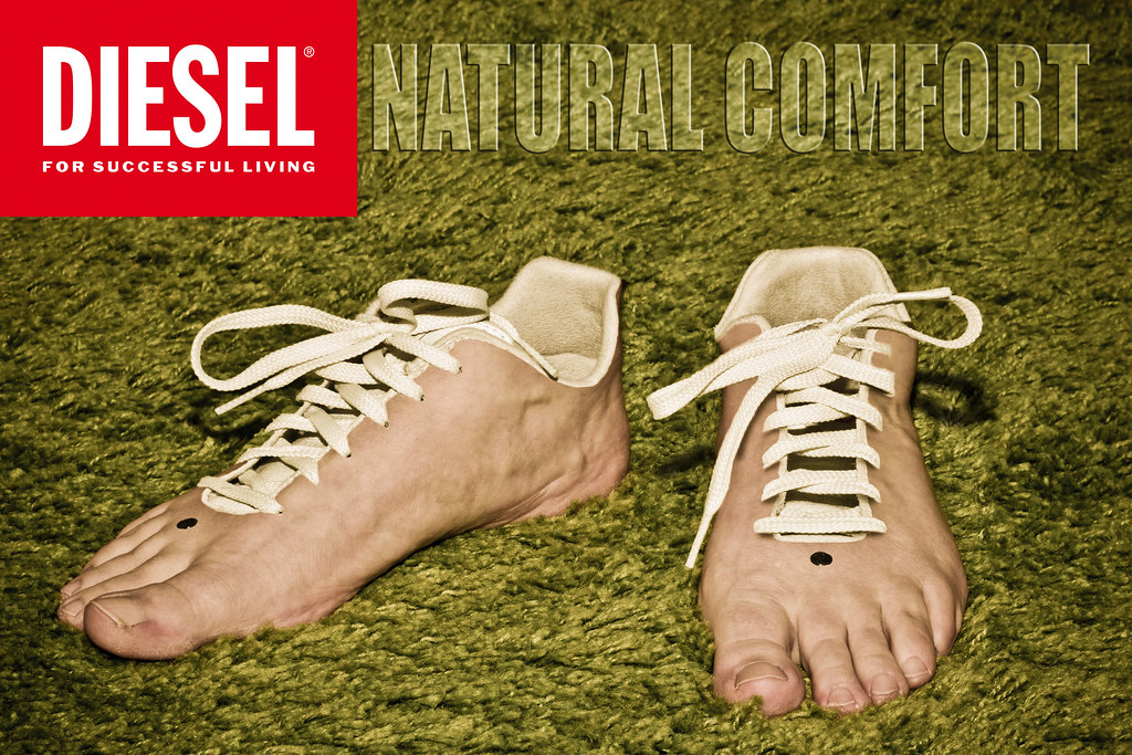 Natural Comfort Hnd Photography Advertising Testing