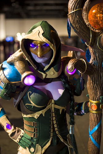 Blizzcon 2011 – Night Elf Druid | by Fearless.Photog
