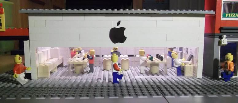 Lego Apple Store | the1000th1 | Flickr
