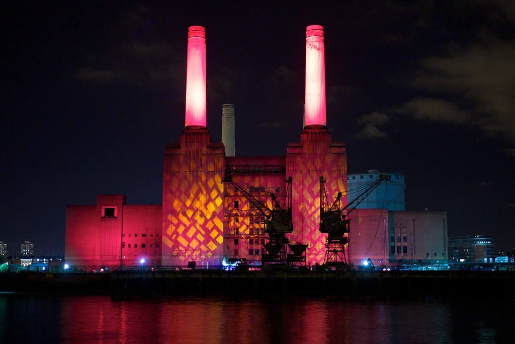 Battersea Power Station Night At
