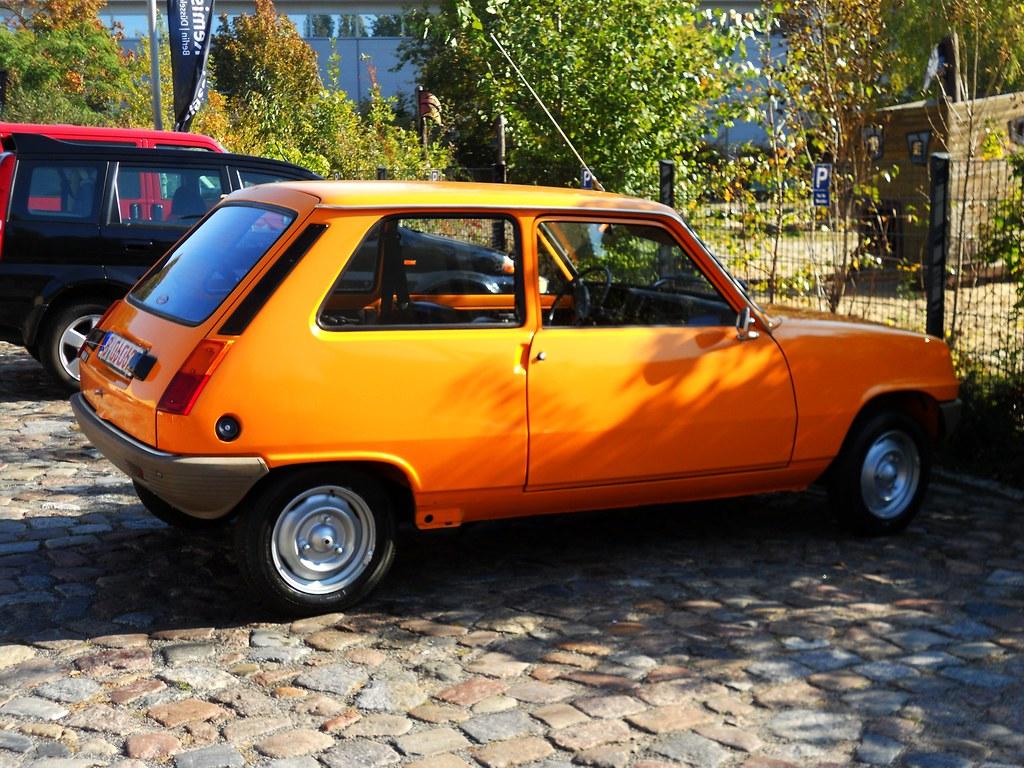 orange on renault 5 l 1977 transaxle alias toprope flickr. Black Bedroom Furniture Sets. Home Design Ideas