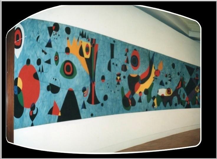 Joan Mir U00f3 Mural