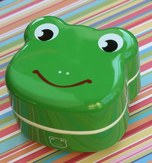 froggie face bento box | by anotherlunch.com