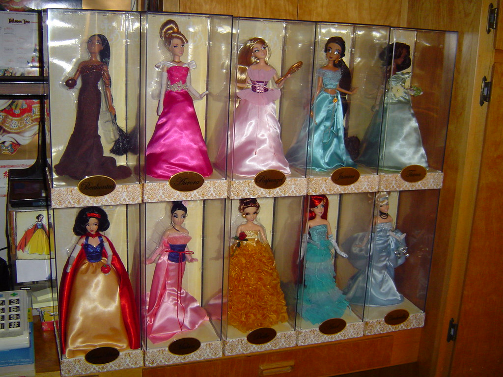 Disney Princess Designer Collection In Stacked Acrylic D