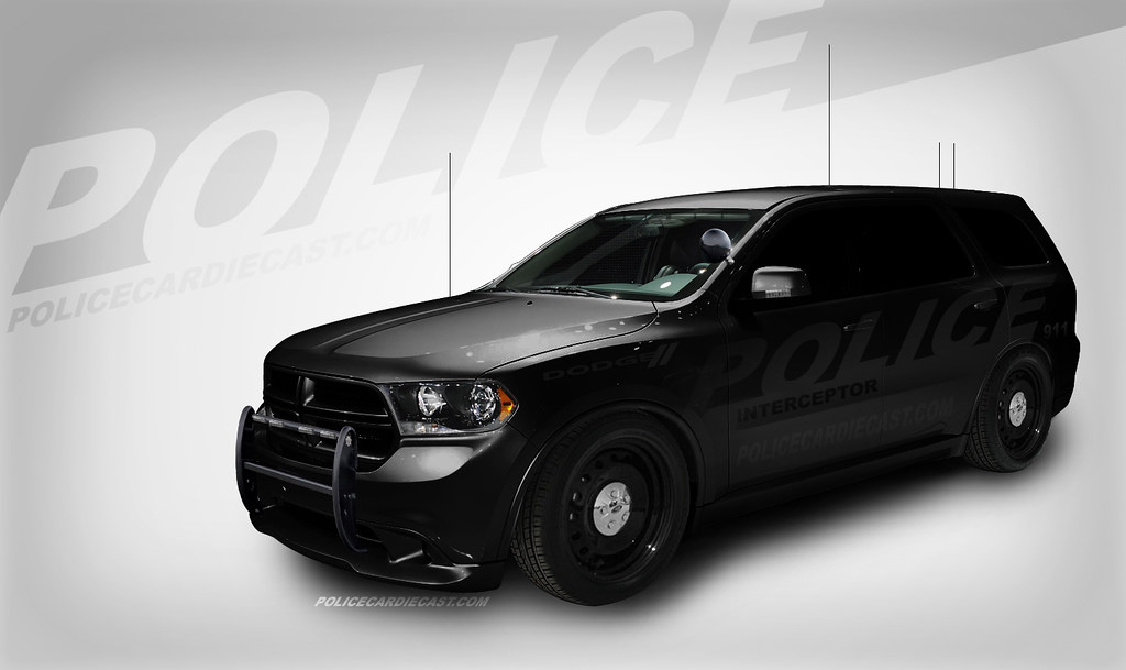 Stealth Dodge Durango Police Interceptor Concept Created