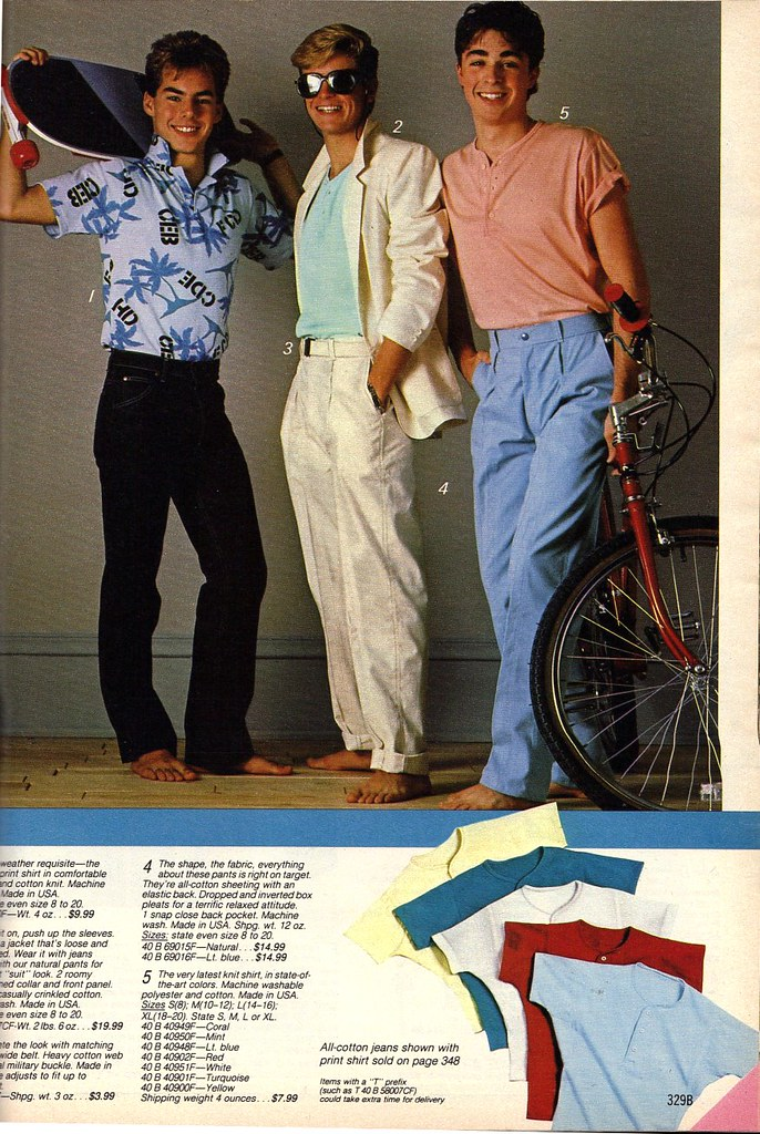 Miami Vice look for high school '86 | Pastel clothing for ...