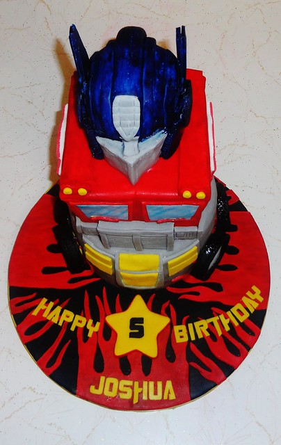 optimus prime cake optimus prime cake flickr photo 6263