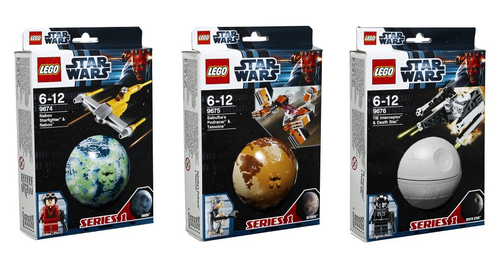 LEGO Star Wars Planet Series 1   More information up: THE BR…   Flickr