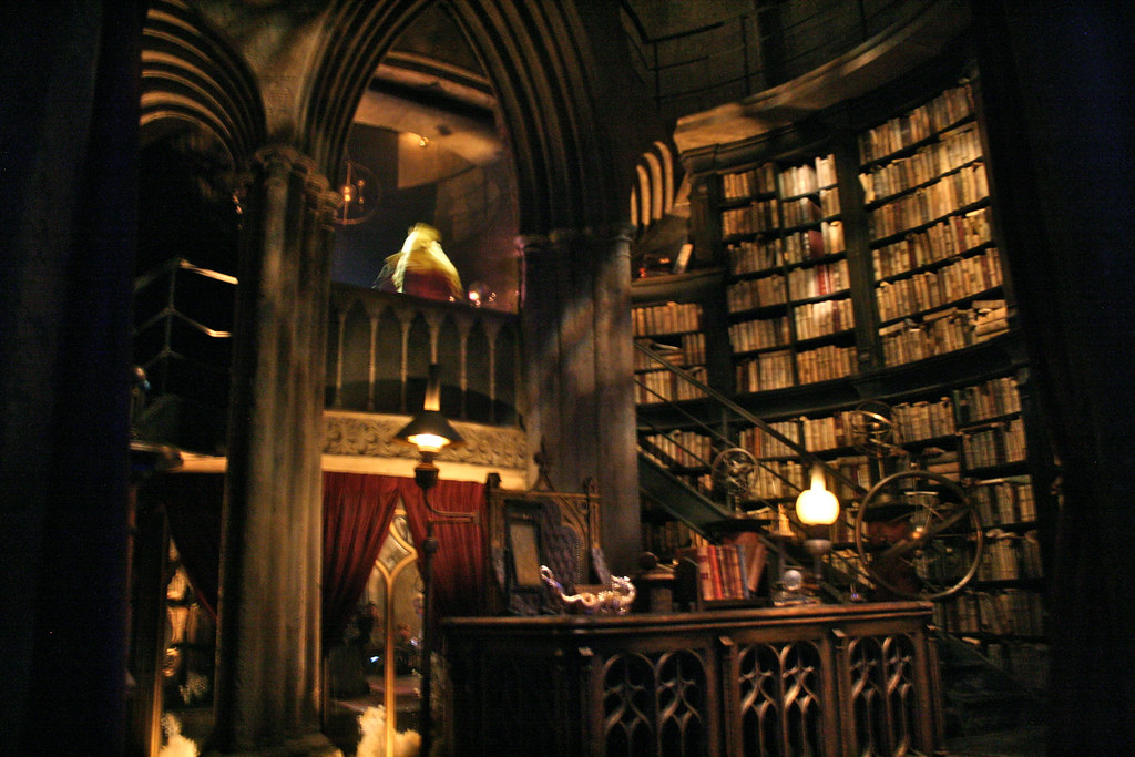 ... Wizarding World Of Harry Potter   Dumbledoreu0027s Office | By Phoemail